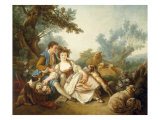 The Basket of Roses, 1785 Giclee Print by Jean-Baptiste Huet