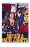 The Killing, Italian Movie Poster, 1956 Posters