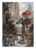 Sleeping Beauty: The Prince Approaches the Enchanted Castle Giclee Print by Jouvet