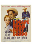 Escape from Fort Bravo, 1953 Prints
