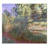 Bassin aux Nympheas et Sentier au Bord de l'Eau, 1900 Giclee Print by Claude Monet