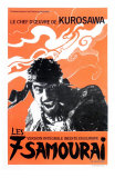 Seven Samurai, French Movie Poster, 1954 Prints