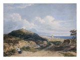 Cromer from the Lighthouse Giclee Print by John Varley