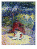 L'Enfant Au Tablier Blanc, c.1902-5 Prints by Henri Edmond Cross