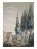 In the Ludovisi Gardens, Rome Posters by J. M. W. Turner