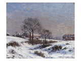 Paysage sous la Neige, Upper Norwood, 1871 Giclee Print by Camille Pissarro
