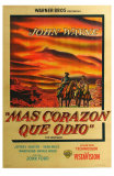 The Searchers, Argentine Movie Poster, 1956 Prints