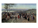 A Day of Celebration in Old Russia, 1884 Giclee Print by Nicolai Dmitrieff-Orenburgsky