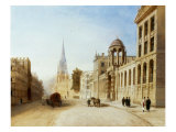 The High, Oxford, 1838 Giclee Print by Joseph Murray Ince