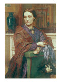 Portrait of Fanny Holman Hunt Posters by William Holman Hunt