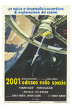 2001: A Space Odyssey, Italian Movie Poster, 1968 Posters