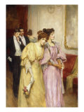 At the Ball, 1897 Giclee Print by George Sheridan Knowles