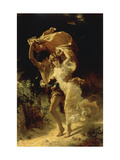 The Storm Posters by Pierre-Auguste Cot