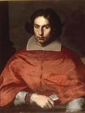 A Portrait of Cardinal Antonio Barberini Giclee Print by Simone Cantarini