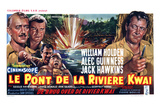 Bridge on the River Kwai, Belgian Movie Poster, 1958 Prints