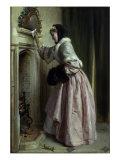 Madame se Chauffe, 1871 Print by John Callcott Horsley