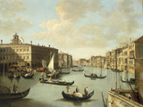 Venice, a View of the Grand Canal Giclee Print by  Canaletto