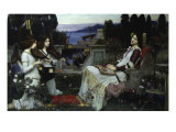 Saint Cecilia Giclee Print by John William Waterhouse
