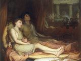 Sleep and his Half-Brother Death Giclee Print by John William Waterhouse