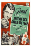 Arsenic and Old Lace, Swedish Movie Poster, 1944 Posters