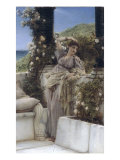 Thou Rose of all the Roses Posters by Sir Lawrence Alma-Tadema