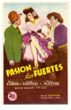 My Darling Clementine, Spanish Movie Poster, 1946 Poster