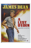 East of Eden, French Movie Poster, 1955 Print