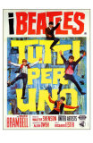 A Hard Day's Night, Italian Movie Poster, 1964 Prints