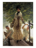 Sur la Tamise (Return from Henley) Prints by James Tissot