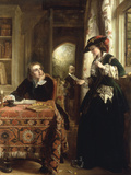 The Poet's Theme Giclee Print by John Callcott Horsley