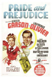 Pride and Prejudice, Australian Movie Poster, 1940 Kunstdrucke