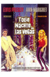Viva Las Vegas, German Movie Poster, 1964 Posters