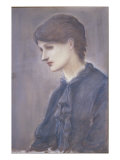 Mrs Stillman, c.1884 Posters by Edward Burne-Jones