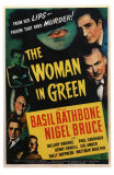 The Woman in Green, 1945 Posters