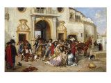 The Death of Carmen, 1890 Giclee Print by Manuel Cabral