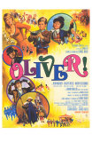 Oliver, French Movie Poster, 1969 Plakater