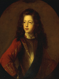 Portrait of James Edward Stuart, the Old Pretender Giclee Print by Francois de Troy