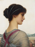 Classical Beauty, 1906 Print by John William Godward