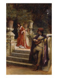 The Minstrel&#39;s Lay Giclee Print by George Sheridan Knowles