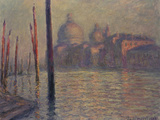 Santa Maria della Salute and the Canale Grande, Venice, 1908 Prints by Claude Monet