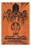 Metropolis, Brazilian Movie Poster, 1926 Prints