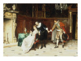 The Suitor&#39;s Introduction Giclee Print by Tito Conti