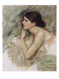 Study for 'The Sorceress' Prints by John William Waterhouse