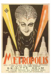 Metropolis, Swedish Movie Poster, 1926 Prints