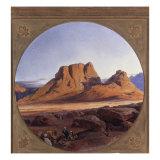 Mount Sinai, 1853 Giclee Print by Edward Lear