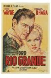 Rio Grande, Argentine Movie Poster, 1950 Prints
