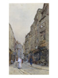 Cloth Alley, Smithfield, 1892 Prints by Rose Maynard Barton