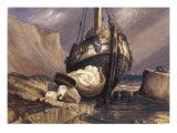 Bateau de Pecheur, 1857 Giclee Print by Odilon Redon