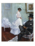 Une Scene Galante Art by Jean Louis Forain