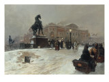 Twilight, St Petersburg Giclee Print by Paolo Sala